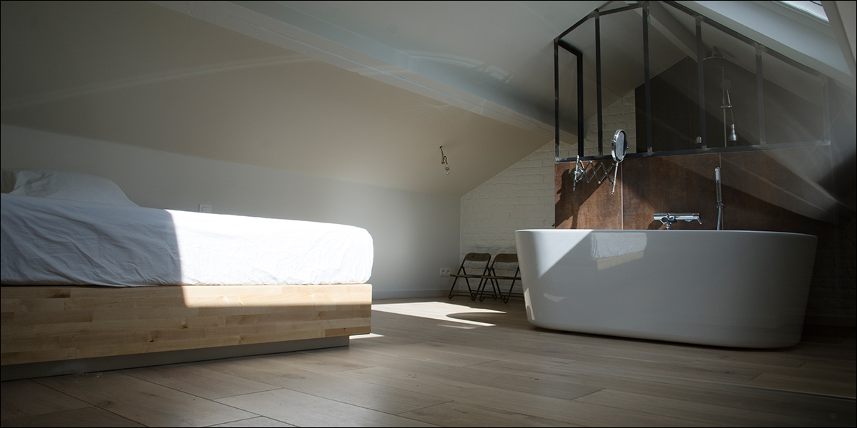 Kamers maison marguerite bed and breakfast brussel - Douche ouverte sur chambre ...